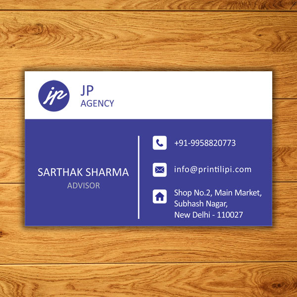 visiting card design online free